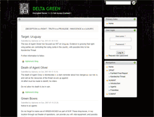 Tablet Preview of deltagreen.mageblade.org